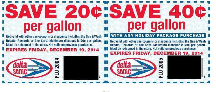photograph about Sonic Printable Coupon named Delta Sonic Gasoline Personal savings Coupon codes!!!