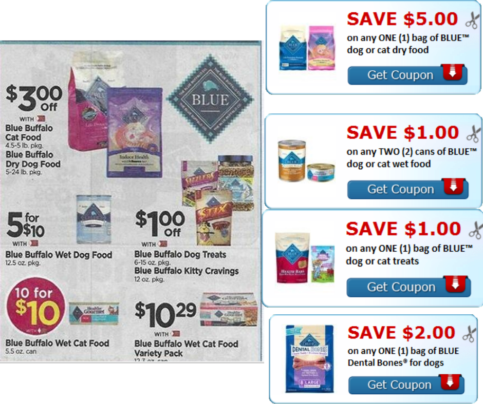 graphic about Blue Buffalo Dog Food Coupons Printable identified as Scarce Contemporary Blue Buffalo Printable discount coupons clip all in just posting +