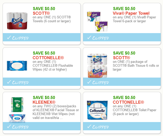 picture about Cvs Printable Coupons called Fresh Paper Goods Printable Coupon codes Scott, Kleenex