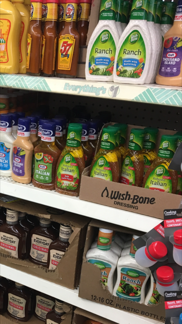 Dollar Tree Wishbone Dressing 50 Each With Coupon