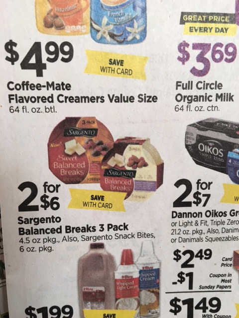 photo relating to Sargento Printable Coupon referred to as Tops - Clean Printable coupon \u003d $1.50 Sargento Snack Bites
