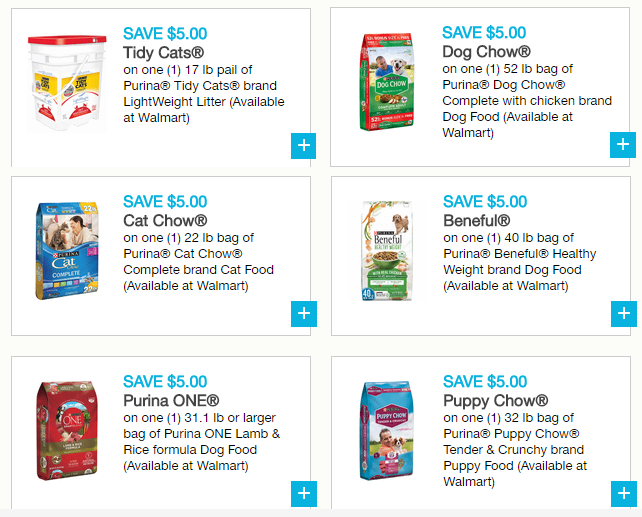 New 6 High Value 5 1 Purina Printable Coupons Deals At Walmart