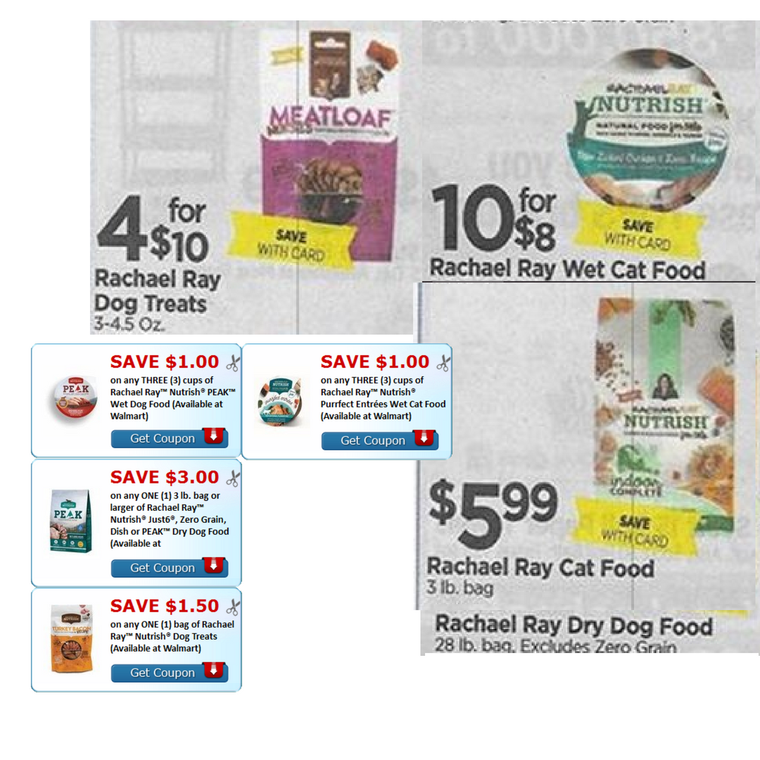 photo about Printable Rachael Ray Dog Food Coupons named Tops - Fresh Rachael Ray Printable Discount codes \u003d $1 Puppy Snacks and
