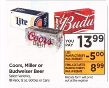 Rite Aid - FREE BEER After Rebates Starting 7/1 - OR and CA