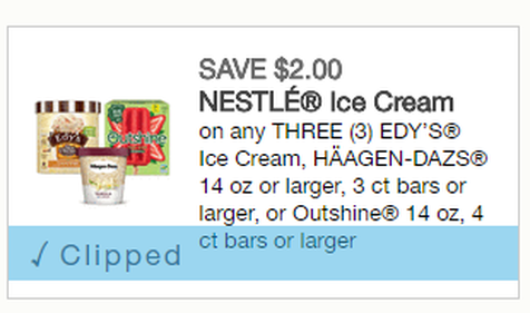 photograph relating to Haagen Dazs Printable Coupon called Wonderful ICE Product PRINTABLE $2 off 3 Edys, Haagen Daz or