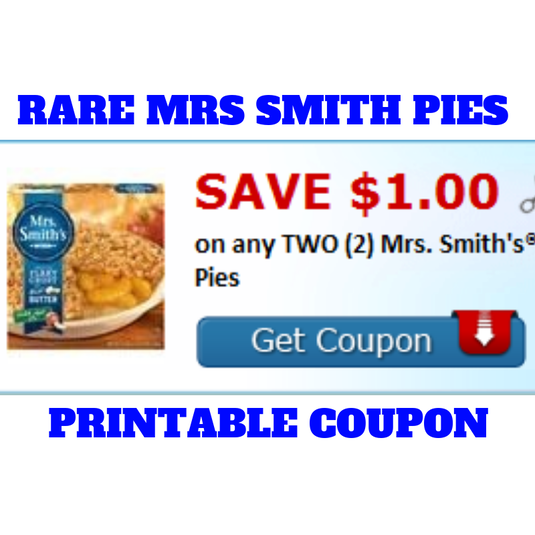 picture relating to Smiths Coupons Printable identified as Mrs Smith Pies Printable Grocery coupon + Bargains at Tops