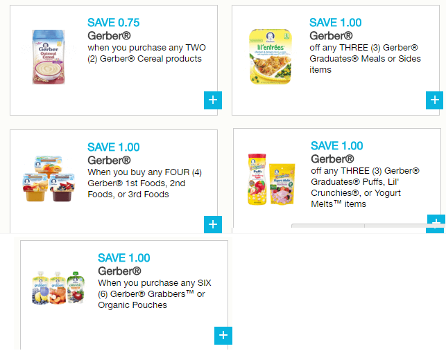 photo about Gerber Printable Coupons titled 5 Remarkable Fresh Gerber Printable Grocery Discount coupons And Offer at