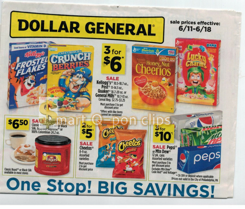 Dollar Tree Store Locator: Dollar General EVEN EARLIER Ad Scan 6/11-6/18 Ad Scan Is LIVE