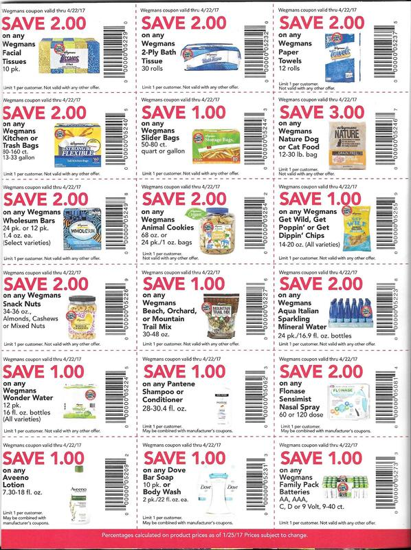 Manufacturer Coupons Mail >> Wegmans Shoppers Check Your Mail Coupons And The Deals They Will